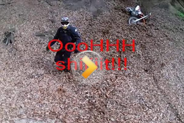 Funny, epic enduro fail – Ooooooh, shiiiiit!