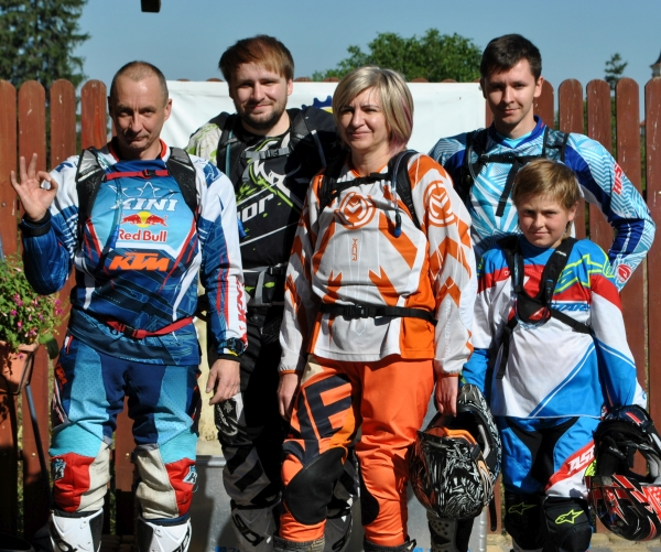 Krzysztof & family, Poland